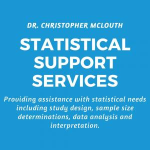 Neuroscience statistical support services research