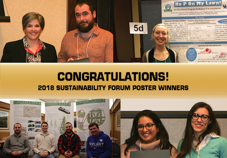 2018 Forum Poster Prize Winners