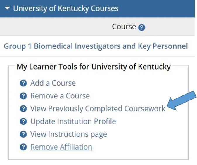 Citi User Information Faqs University Of Kentucky Research