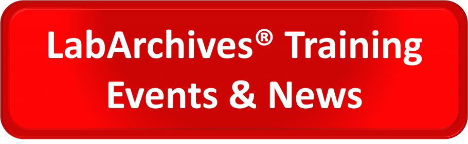 LabArchives Training Events & News
