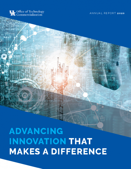 OTC FY 2020 Annual Report Cover: Advancing Innovation That Makes A Difference
