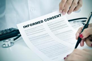 generic informed consent waiver