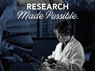 2019 Research Annual Report cover