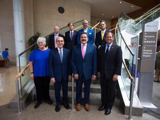 UK leadership at the NCI designation announcement