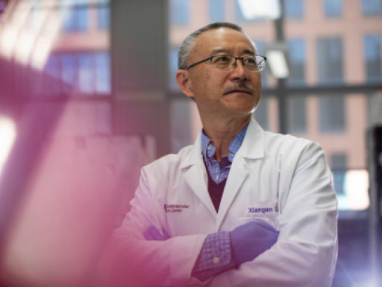UK professor Xiangan Li received a $1.9 million NIH R35 grant, which will fund his research on sepsis over the next five years. Pete Comparoni | UK Photo.