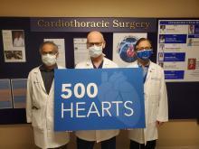 500 Heart Transplants